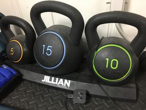 KETTLEBELL SET 5/10/15 for Sale in Union, NJ