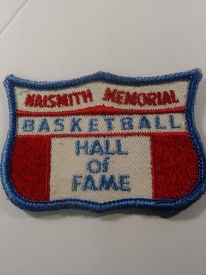 Basketball Hall of Fame patch for Sale in Waterbury, CT