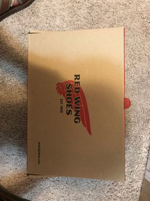 Red wing boots men size 8.5 D for Sale in Pimmit Hills, VA