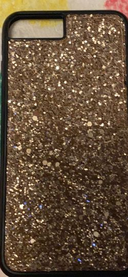 Gold Glitter iPhone 8plus Case for Sale in Shipman,  VA