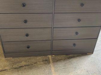 grey 8 drawer dresser $200 for Sale in Anaheim,  CA