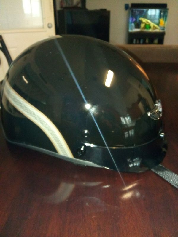 Harley davidson helmet costs 250 new and it has never been used
