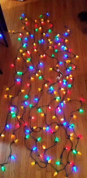 170 C9 LED Christmas Lights, 80' for Sale, used for sale  Secaucus, NJ