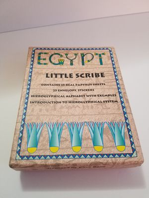 Egpty Heiroglyphic Papyrus Paper Set for Sale in Virginia Beach, VA