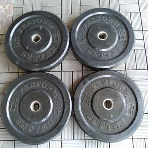 Perform Better Olympic Bumper Weight Plates / Gym / Gymnasio / Pesas for Sale in Dallas, TX