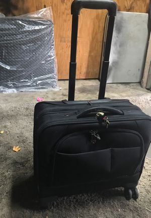 Rolling briefcase with locks and keys for Sale in Vancouver, WA