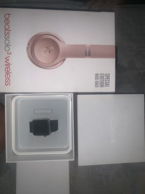 Apple Watch and Solo beats3 for Sale in West Palm Beach, FL