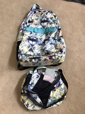 Ivivva backpack and lunch tote for Sale in Mililani, HI