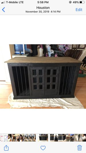Luxurious Customizable Dog Crate w/ options! for Sale in Seattle, WA