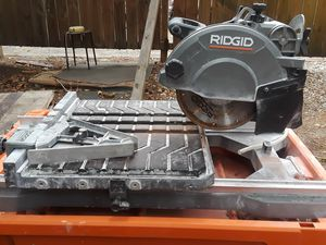 "R4040 Rigid 8""tile saw with stand for Sale in Marietta, GA"