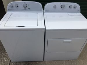 Whirlpool washer and Electric Dryer set for Sale in Mount Dora, FL