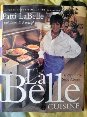Patti LaBelle Cuisine Cookbook for Sale in Reynoldsburg, OH