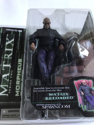 Morpheus Matrix Seated Figure McFarlane Series 2 NIP for Sale in Portland, OR