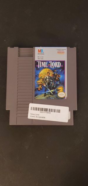 Time Lord nes game for Sale in Houston, TX