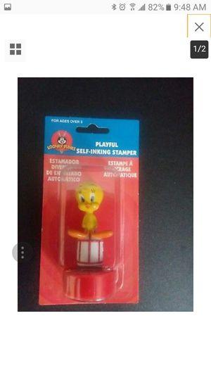 1998 Looney Tunes Playful Self-Inking Stamper Tweety Bird Mint in Box for Sale in Hermitage, TN