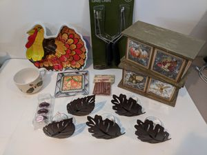 Thanksgiving/Seasonal decorations & dinner uses for Sale in Gaithersburg, MD
