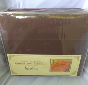 King Size Deep Pocket Chocolate Brown Bed Sheet Set for Sale in Taylor, MI