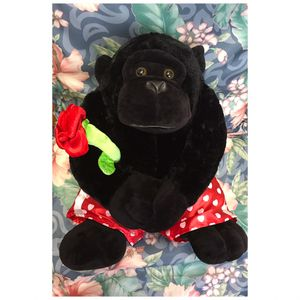 Lovely Monkey plushie , soft , great condition , measure 15 inch H for Sale in Elizabeth, NJ