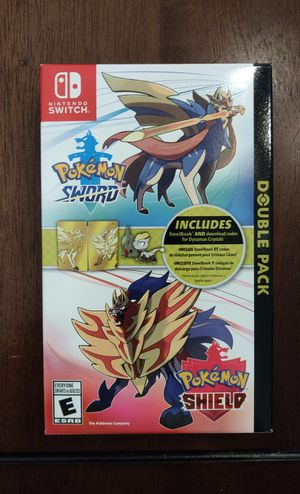 Brand New! Pokemon Sword and Shield Nintendo Switch + Steelbook Target Exclusive for Sale in Orlando, FL