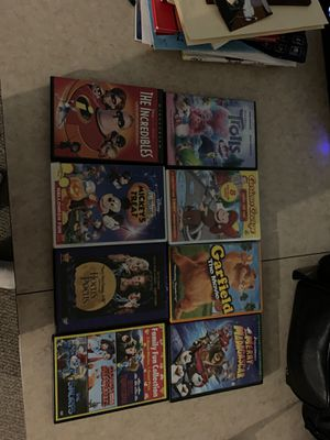 8 Kids Movies for Sale in McHenry, IL