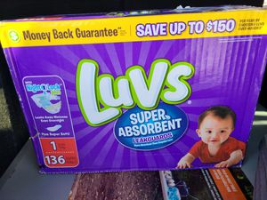 Baby diapers size 1 box never opened for Sale in Laveen Village, AZ