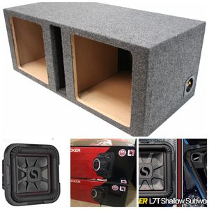 "Brand new subwoofers kicker l7t 12"" with ported box for Sale in Phoenix, AZ"