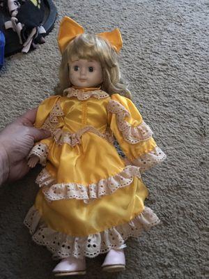 Porcelain doll excellent condition for Sale in Potter, KS
