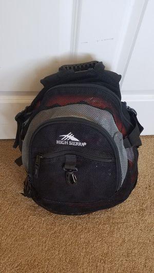 High Sierra Mesh Backpack w/ rain cover for Sale in Riverside, CA