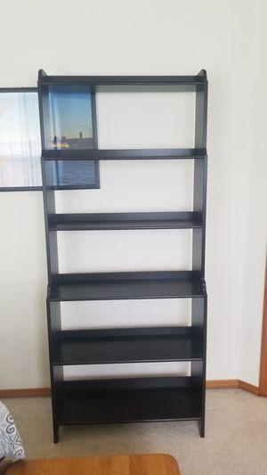 Black/brown bookshelf for Sale in Lynnwood, WA