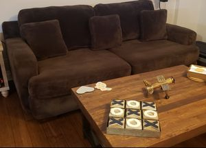 Plush couch for Sale in Homer Glen, IL