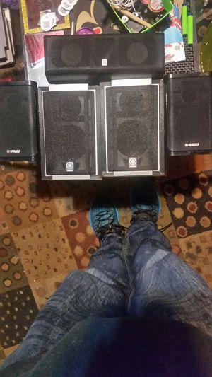Yamaha speakers and sub for Sale in Spokane, WA