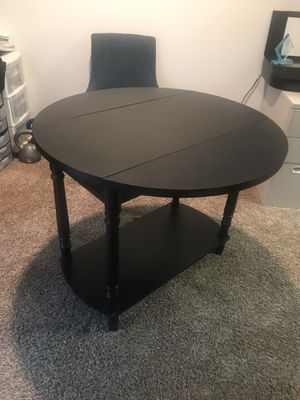 Black small kitchen table for Sale in Arlington, TX