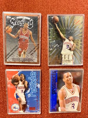 1996-97 Allen Iverson Rookie Cards for Sale in Calabasas, CA
