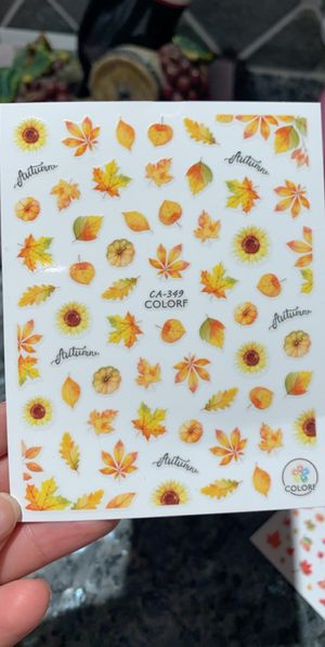 Nail decals for autumn 🍂 for Sale in Anaheim, CA