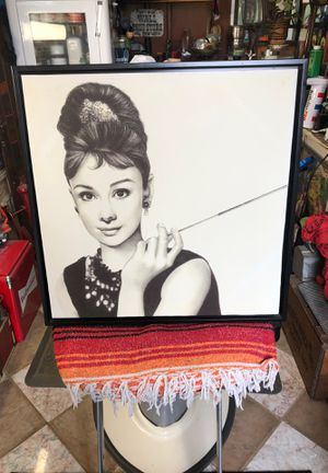 Audry Hepburn Canvas picture for Sale in Salinas, CA