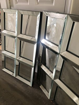 Gorgeous wall mirror decor (each $100) for Sale in Owings Mills, MD