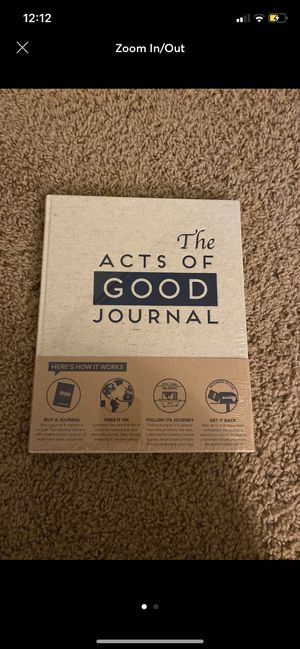 The acts of good journal for Sale in Beaumont, CA