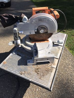 Table saw, and chop saw for Sale in Milwaukie, OR