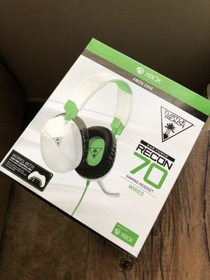 (BRAND NEW) Turtle Beach Recon 70 Wired Gaming Headset for Sale in Rancho Cucamonga, CA