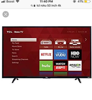 Tcl roku 55 inch tv for Sale in Loudon, TN