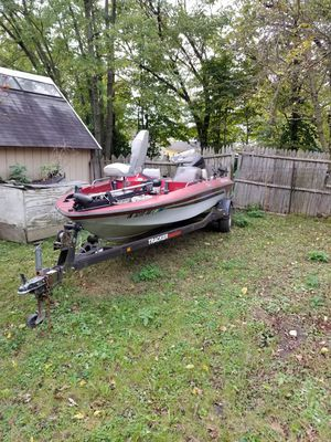18' bass tracker for Sale in Indianapolis, IN