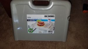 2 Foldable table storage trays for Sale in Virginia Beach, VA