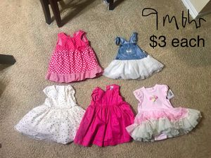 Baby clothing and Shoes 6 months, 9 months, 12 months, 18 months for Sale in Houston, TX