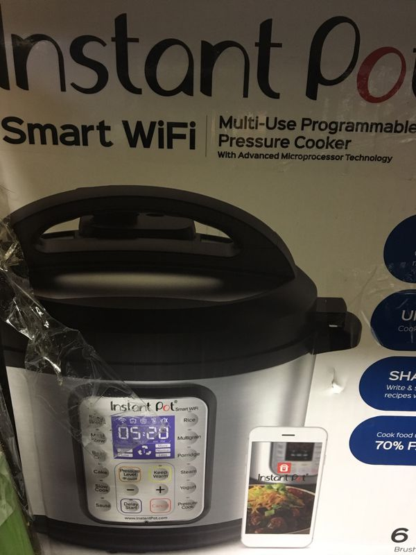 New In Opened Box 6 Quart Instant Pot