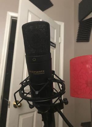 Marantz usb microphone for Sale in Etiwanda, CA