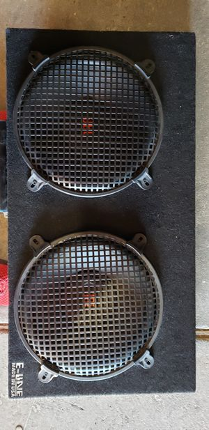 JBL 12s subwoofer with amp for Sale in San Francisco, CA
