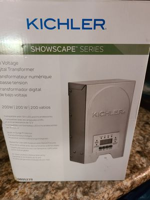Brand new kichler lighting and transformer for Sale in Morgantown, WV