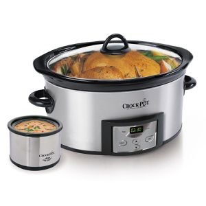 Crockpot digital slow cooker with Little Dipper for Sale in North Bethesda, MD
