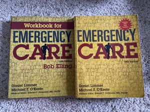 Emergency Care Book & Workbook 13th Edition for Sale in San Antonio, TX