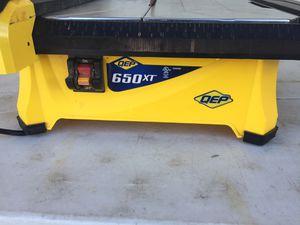 QEP Tile saw for Sale in Grand Prairie, TX